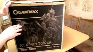 Розпакування GAMEMAX GM ONE з Rozetka com ua