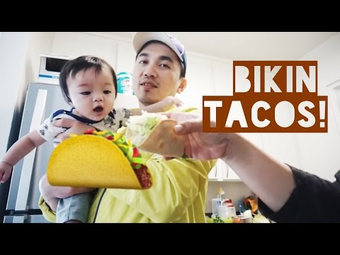 Vlog #104   BELANJA & BIKIN TACOS! 🌮