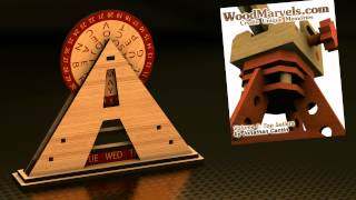 Pyramid Calendar: 3d Assembly Animation (1080hd)