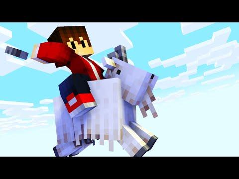 Was können unsere neuen Ziegen in Minecraft | Minecraft Bedrock Guide #77 | LarsLP