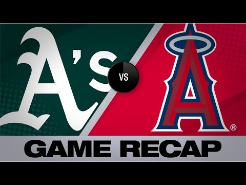 Olson's 2 homers power A's to 7-2 victory | A's-Angels Game Highlights 6/28/19