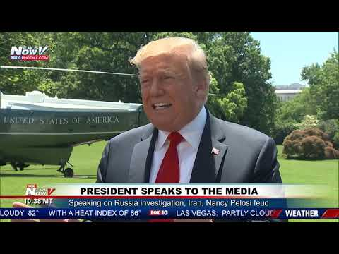 """MUST WATCH: President Trump Takes On Pelosi, Iran, and """"Witch Hunt"""""""
