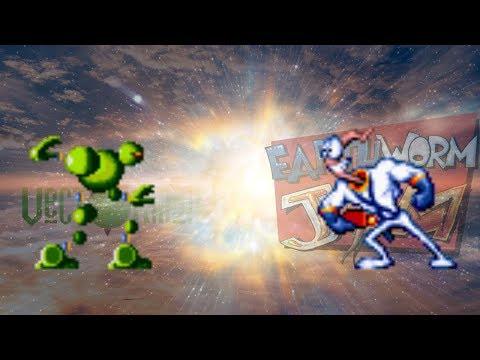 Vectorman Vs Earthworm Jim (cancelled)
