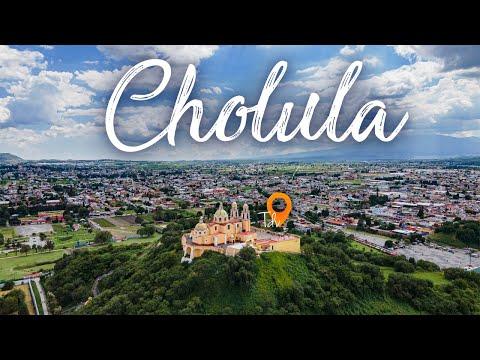 Que hacer en Zona Arqueológica de Cholula - Puebla 4k