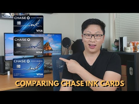 Comparing ALL the Chase Ink Cards: Which One Is Best?
