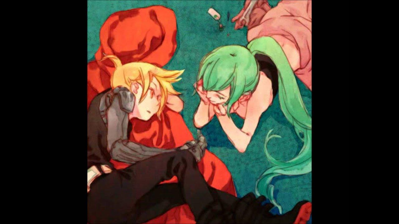 Kiss~ Magnet Len X miku - YouTube  Kiss~ Magnet Le...
