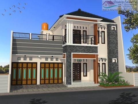 rumah minimalis lantai 2 modern house 13x14drafter ndeso