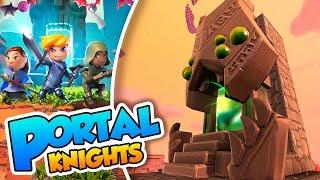 ¡El portal del jefe! - #07 - Portal Knights (PC) con Naishys
