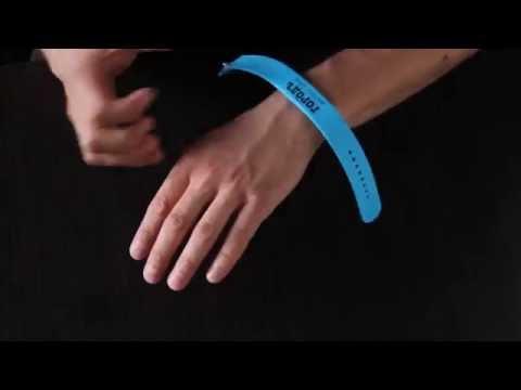 Как надевается новый браслет Pocketkey с RFID чипом