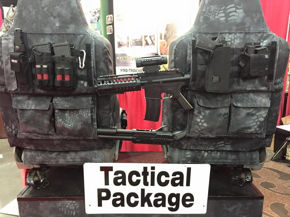 Seat Cover Tactical Package