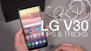 20+ LG V30 Tips and Tricks!
