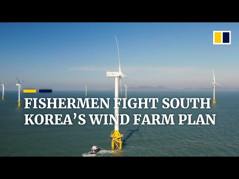 Fishermen oppose plans for world's biggest wind farm in waters off South Korea