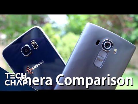 Samsung Galaxy S6 vs LG G4 | Camera Comparison