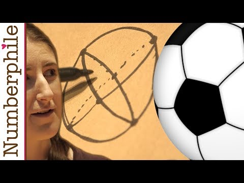 How many panels on a soccer ball? - Numberphile