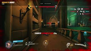 Overwatch B o B ultimate in action for new ow character Ashe