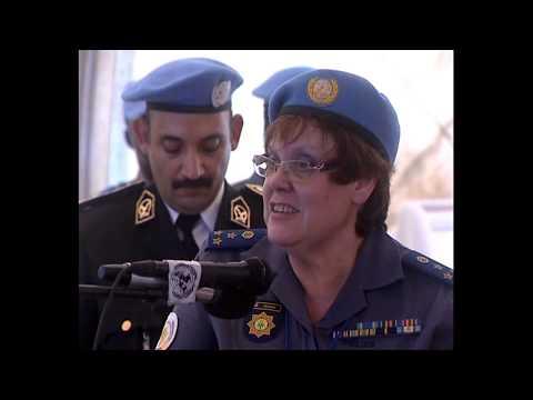 EGYPTIAN POLICE UNAMID Medal Parade 2 December 2013