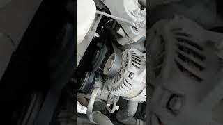 Как свистит ремень на mitsubishi lancer X 1.5l МТ... Часть 1