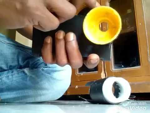Membuat mounting camera senapan scope cam handphone how to make