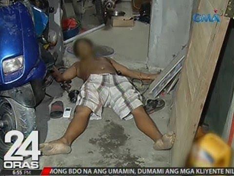 24 Oras: Umano'y drug user at pusher, patay nang manlaban umano sa buy-bust operation