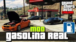 GTA V Super Realista - Mod de Gasolina, Autos, aviones, helicopteros, etc.., | Increible