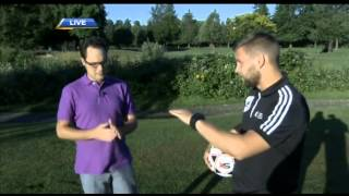 Learn how to play FootGolf