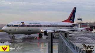 Repeat youtube video Royal Family of Thailand * HRH Crown Prince flying Boeing 737 himself