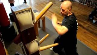Choy Lay Fut Wooden Dummy Training