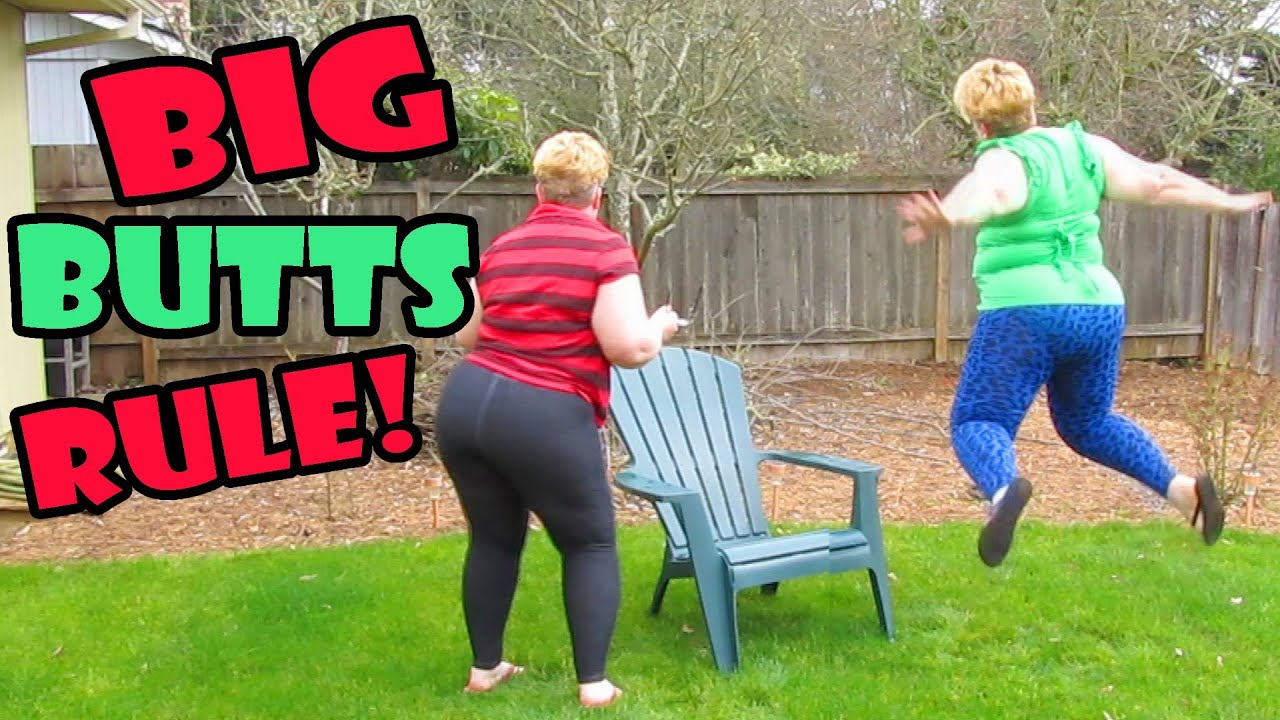 big butts rule: music video fail - youtube