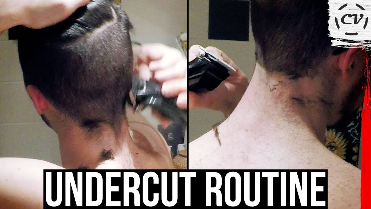 How To Keep Your Undercut DIY Hairstyle Routine YouTube - Undercut hairstyle diy