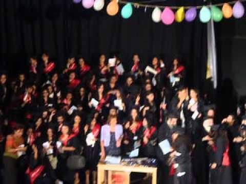 حفل تخرج ثانوية عامة كنيسة العذراء بالزيتون دفعة 2012