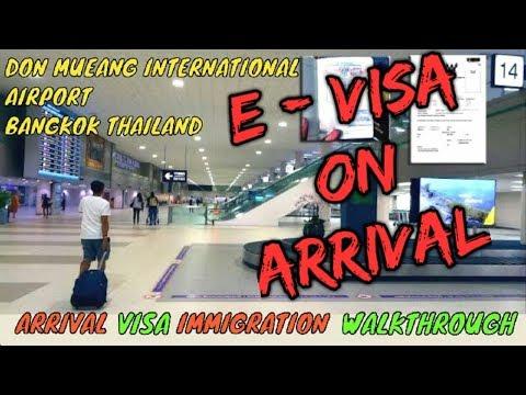 don-mueang-international-airport,-bangkok,-thailand-||-visa-on-arrival,-immigration,-walkthrough