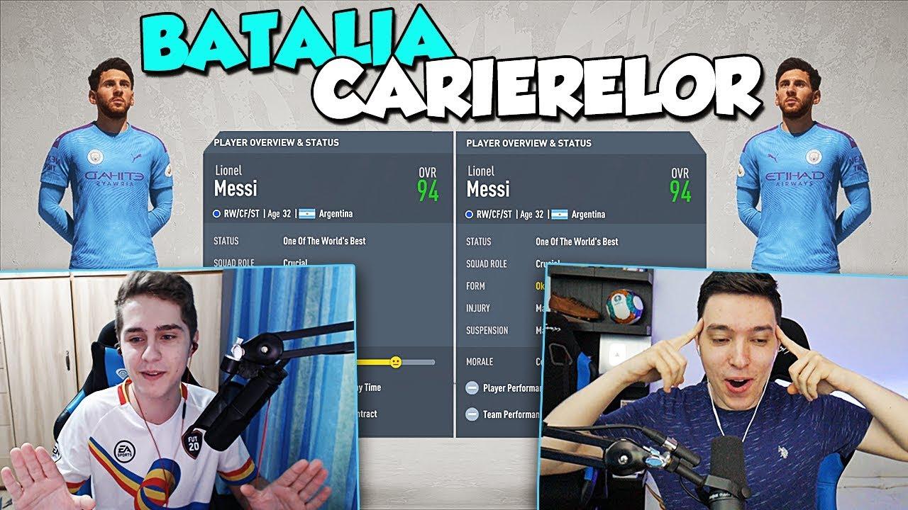 MESSI LA MAN CITY DE DOUA ORI !! | BATALIA CARIERELOR cu Theo