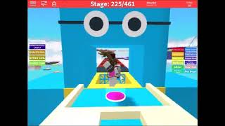 ROBLOX- Bloxtun's obbies and Ultra Fun Productions' Ultra fun Obby - Gameplay nr.0980+