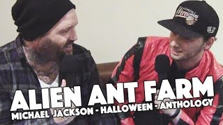 Скачать Alien Ant Farm Interview Michael Jackson Halloween ANThology Rebellious Noise