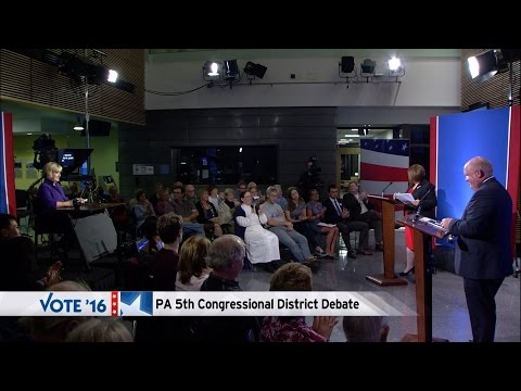 Glenn Thompson (R) and Kerith Strano Taylor (D) - PA 5th Congressional District Debate