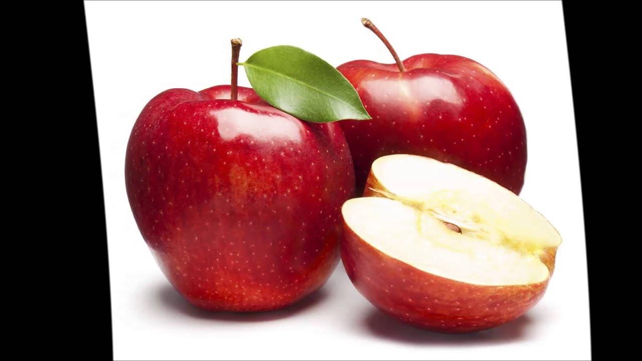 в печеном яблоке калории
