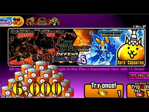 The Battle Cats - 6,000 Catfood On Elemental Pixies & MSD