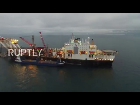 Russia: Gazprom begins offshore construction of Turkish Stream pipeline