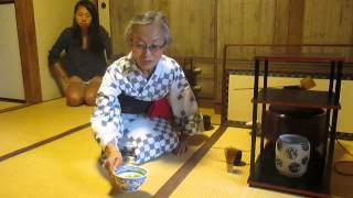 Experiencing Traditional Tea Ceremony