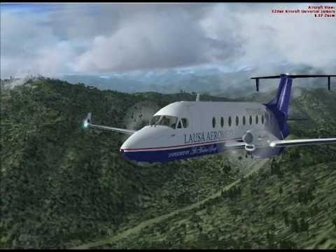LIFE GUARD FLIGHT B1900 - TAKE OFF & CLIMB