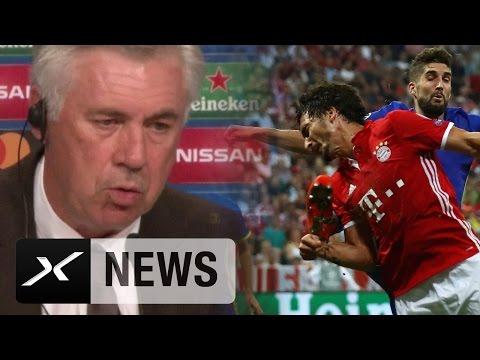 Carlo Ancelotti erklärt: So geht es Mats Hummels | FC Bayern München - FK Rostow 5:0