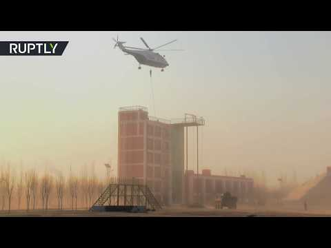 RAW: Russia & China conduct joint drills