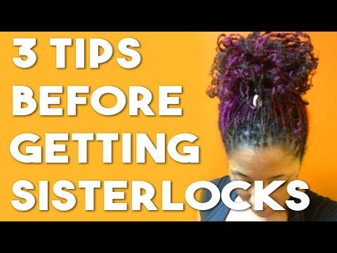 3 Tips Before Getting Sisterlocks
