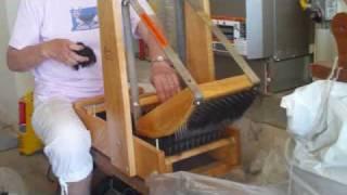 Using a Picker to Prepare Fiber for Carding