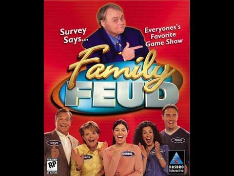 Family Feud 2000 PC ORIGINAL RUN Game #14