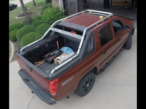 Safari Style Roof Rack for Charlie's Avalanche - Part 2