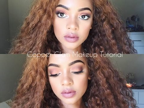 Copper Glam Tutorial | Full Face | Mihlali N