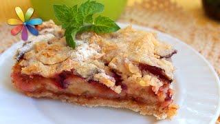 Яблочно-сливовый пирог произведет фурор среди ваших гостей! – Все буде добре. Выпуск 695 от 28.10.15