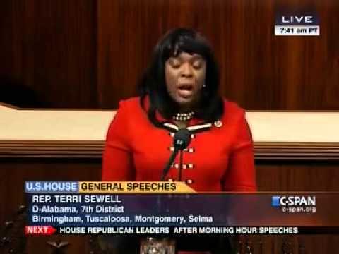 BHM 2014: Congresswoman Sewell Honors Amelia Boynton Robinson on the House Floor