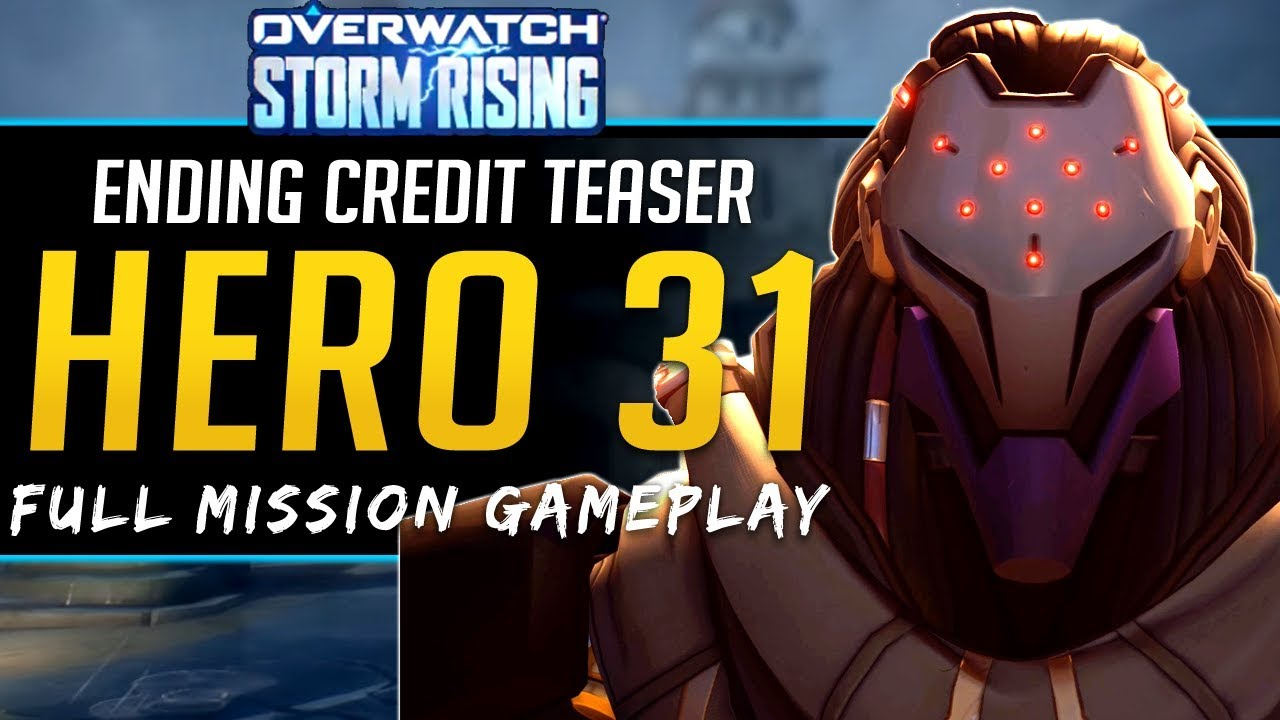 Overwatch New Hero 2020 Overwatch NEW Hero Teaser! Full Story and playthrough Storm Rising